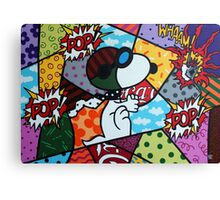 Snoopy POP Canvas Print
