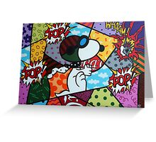 Snoopy POP Greeting Card