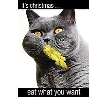 it's christmas Photographic Print