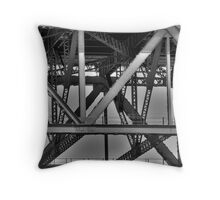Iron Angles Throw Pillow