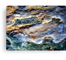Milky Quartz Abstract Canvas Print