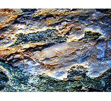 Milky Quartz Abstract Photographic Print