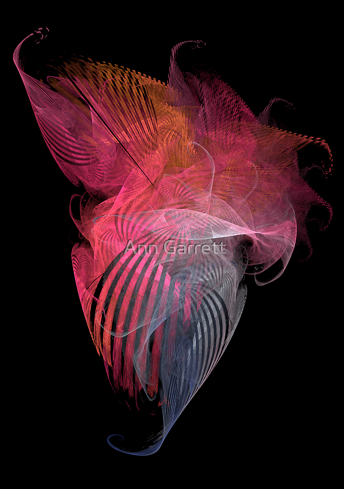 Tangle of Silk Scarves by Ann Garrett