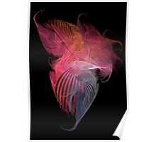 Tangle of Silk Scarves Poster