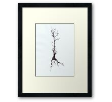 0020 - Brush and Ink - Before Snowfall Framed Print