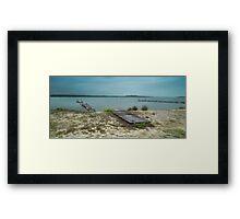 Manning Point Broken Jetty 01 Framed Print