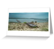 Manning Point Broken Jetty 01 Greeting Card