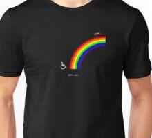 Climbing the Rainbow Unisex T-Shirt