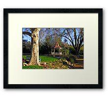 Wagga Wagga Botanic Gardens Framed Print