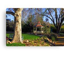 Wagga Wagga Botanic Gardens Canvas Print