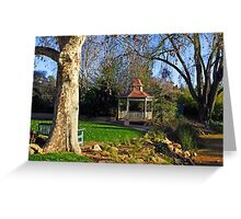 Wagga Wagga Botanic Gardens Greeting Card