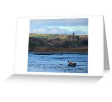 Amble harbour....... Greeting Card