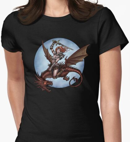 Beaureguardian of Dragons Womens Fitted T-Shirt