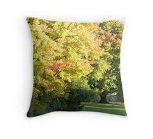 Fall Maple Throw Pillow
