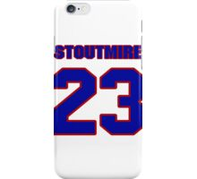 National football player Omar Stoutmire jersey 23 iPhone Case/Skin