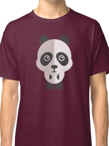 Funny cartoon panda Classic T-Shirt