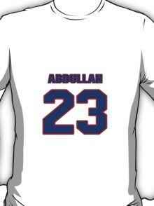 National football player Hamza Abdullah jersey 23 T-Shirt