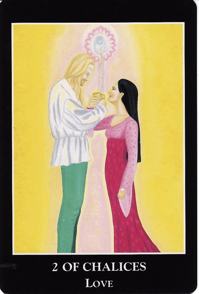 2 of Chalices - Love by Lisa Tenzin-Dolma
