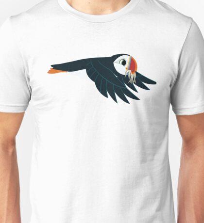 Papa - Flying with Fish Unisex T-Shirt