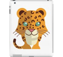 Cute cartoon cheetah iPad Case/Skin