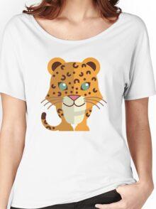 Cute cartoon cheetah Women's Relaxed Fit T-Shirt