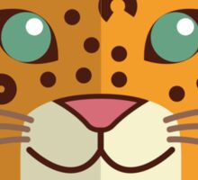Cute cartoon cheetah Sticker