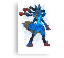 Pokemon - Mega evolution , Lucario ! Canvas Print