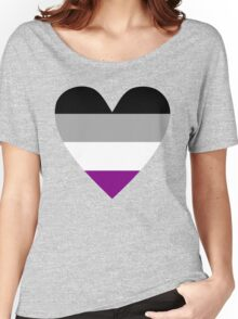 Asexual heart Women's Relaxed Fit T-Shirt