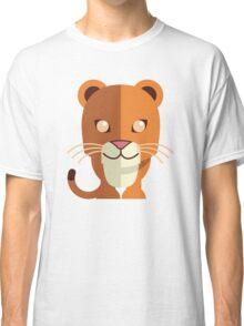 Funny cartoon panther Classic T-Shirt