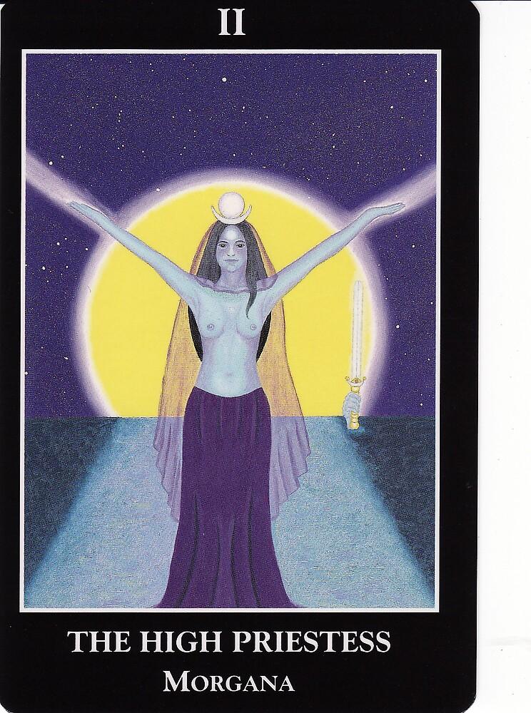 The High Priestess - Morgana by Lisa Tenzin-Dolma