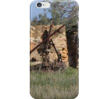 Plough In Time... iPhone Case/Skin