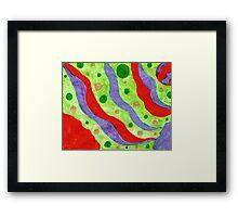 Colorful Wonders Framed Print