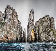 Cape Pillar Tasmania by Russell Charters