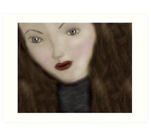 The Living Doll Art Print