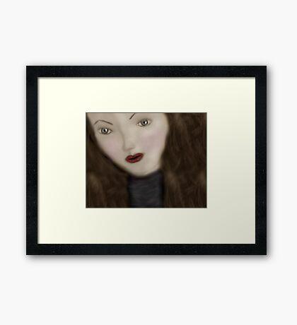 The Living Doll Framed Print