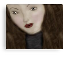 The Living Doll Canvas Print