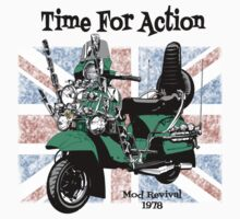 Time for Action (Mod Revival 1978) Kids Clothes