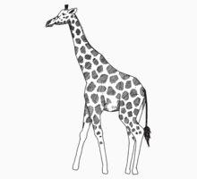 Giraffe Fanimal One Piece - Short Sleeve
