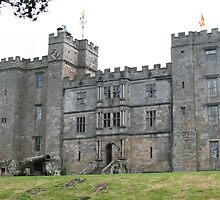 An imposing view of the infamous haunted Chillingham Castle  by NJAPHOTOGRAPHY