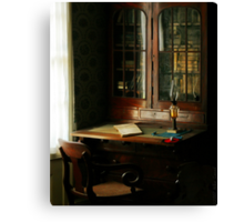 The Study Canvas Print