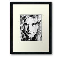 Human Face. Expression 30 Framed Print