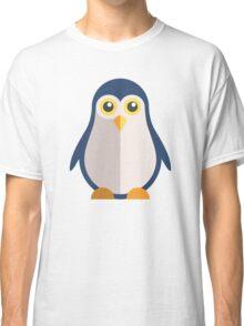 Cute cartoon penguin standing Classic T-Shirt