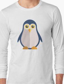 Cute cartoon penguin standing Long Sleeve T-Shirt
