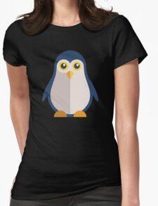 Cute cartoon penguin standing Womens Fitted T-Shirt