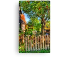 The Apple Tree Canvas Print