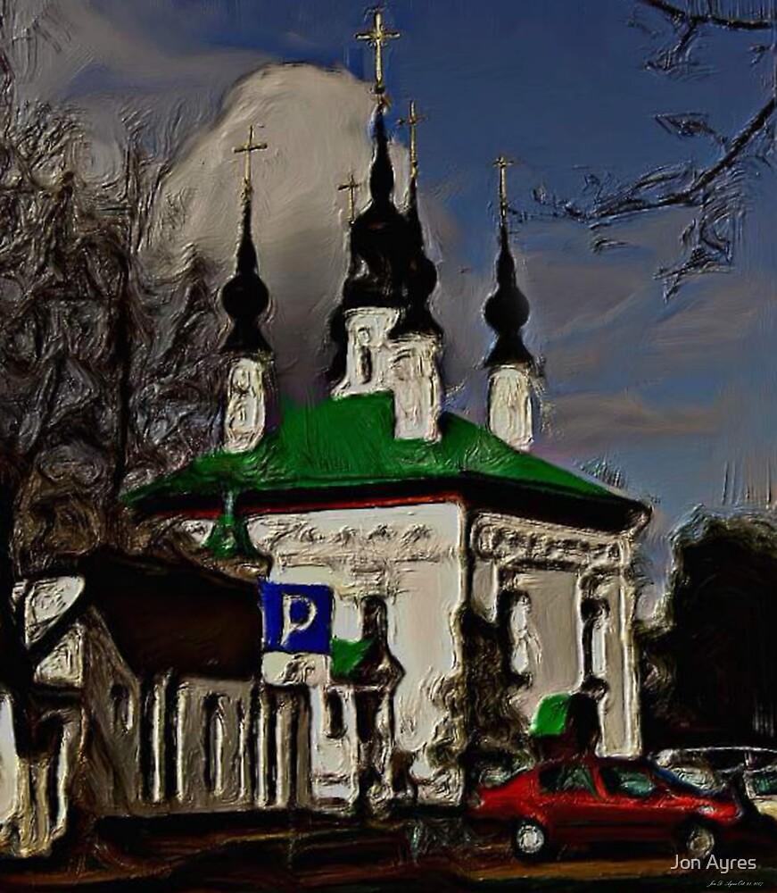 Chapel in Yuryev-Polskoy by Jon Ayres