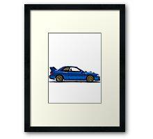 22B Sti WRX Impreza Subaru 2 Framed Print