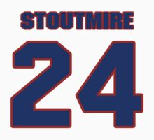 National football player Omar Stoutmire jersey 24 by imsport