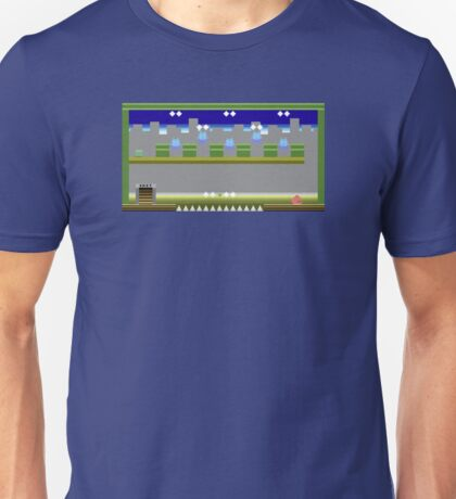 Atari 2600 Themed Pixel Level Unisex T-Shirt