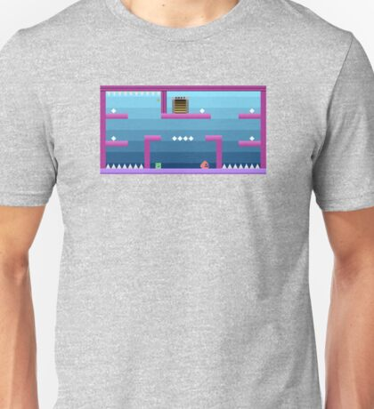 Atari 2600 Themed Pixel Level Part 2 Unisex T-Shirt